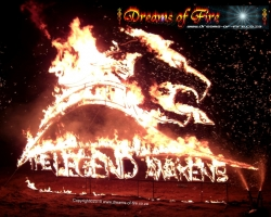 4b. Burning Logo for Legends Resorts