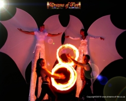 2i. Our Butterfly Stilts and Dragon Fire Duo