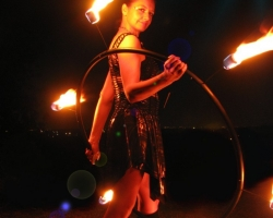 1f. G with Fire Hoop